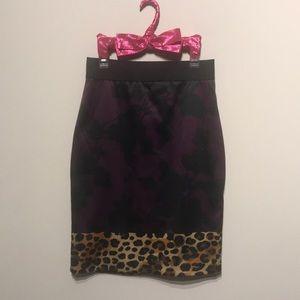 Express Pencil Skirt Elastic Waist